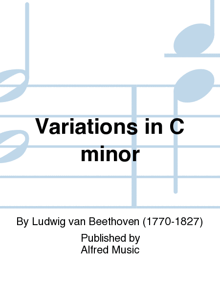 Variations in C Minor