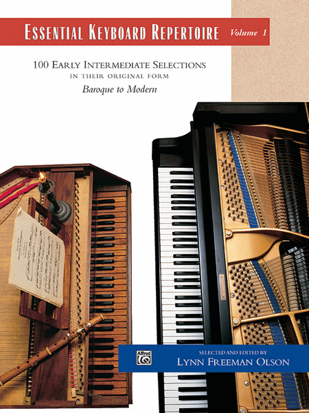 Essential Keyboard Repertoire, Volume 1 - Book Only