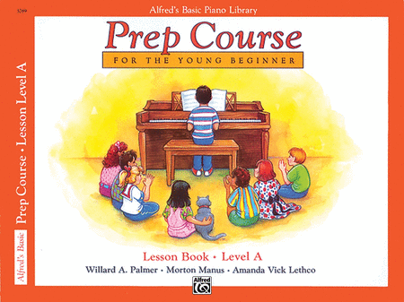 Alfred's Prep Course - Lesson Book (Level A)