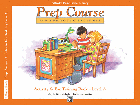 Alfred's Prep Course - Activity & Ear Training Book (Level A)