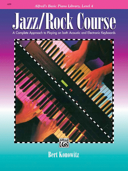 Alfred's Basic Jazz/Rock Course Lesson Book