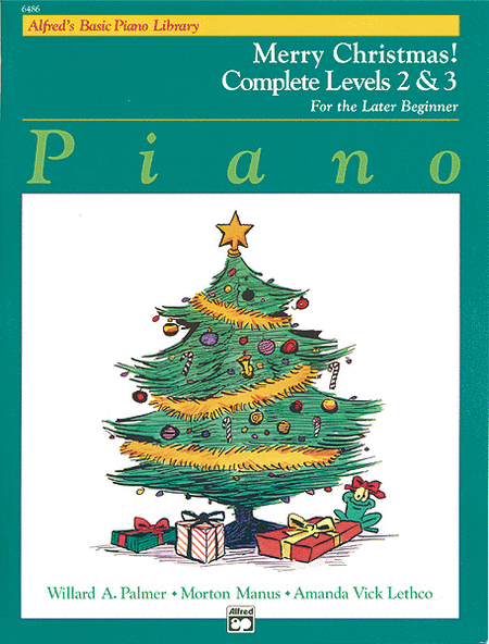 Alfred's Basic Piano Course - Merry Christmas! Complete, Book 2 & 3