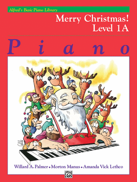 Alfred's Basic Piano Course - Merry Christmas! (Book - Level 1A)