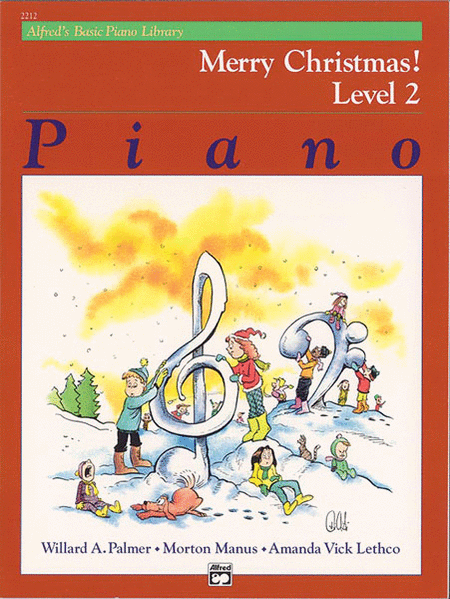 Alfred's Basic Piano Course - Merry Christmas! (Book - Level 2)