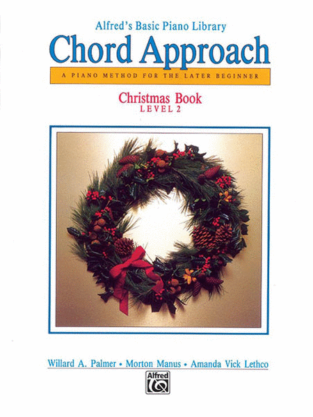 Alfred's Basic Chord Approach Christmas, Book 2