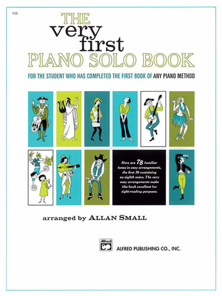 Very First Piano Solo Book