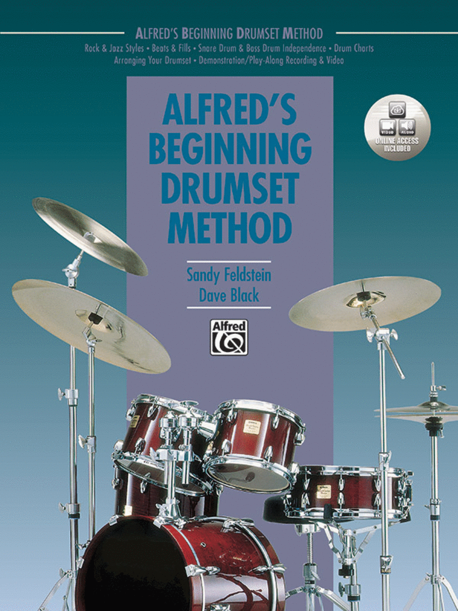 Alfred's Beginning Drumset Method - Book/CD
