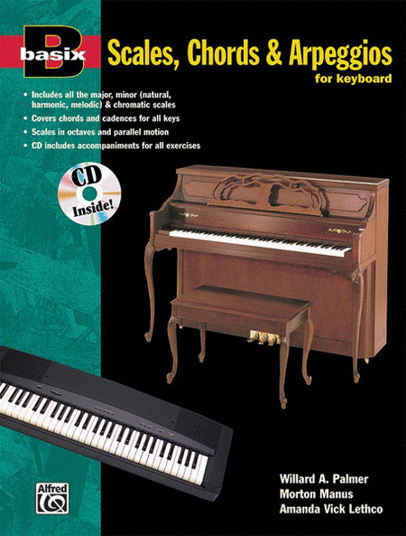 Basix Scales, Chords and Arpeggios for Keyboard