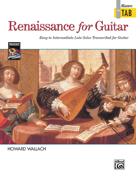 Renaissance for Guitar - Masters in Tab