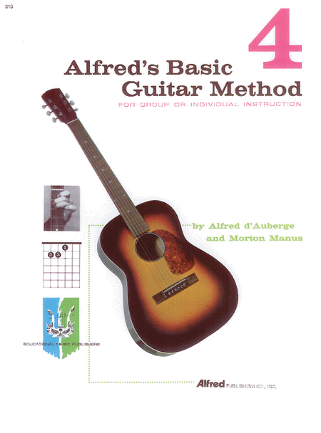 Alfred's Basic Guitar Method - Book 4 (Book Only)