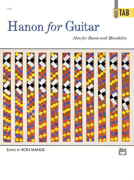 Hanon for Guitar - in Tab