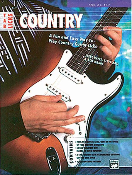 TAB Licks -- Country Guitar
