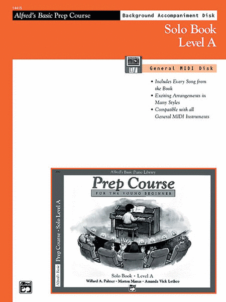 Alfred's Basic Piano Prep Course - General MIDI Disk For Solo Book Level A