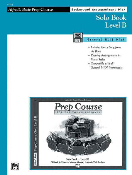 Alfred's Basic Piano Prep Course - General MIDI Disk For Solo Book Level B