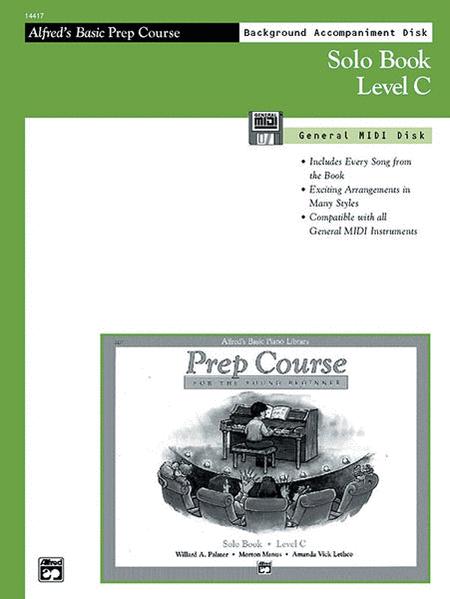 Alfred's Basic Piano Prep Course - General MIDI Disk For Solo Book Level C
