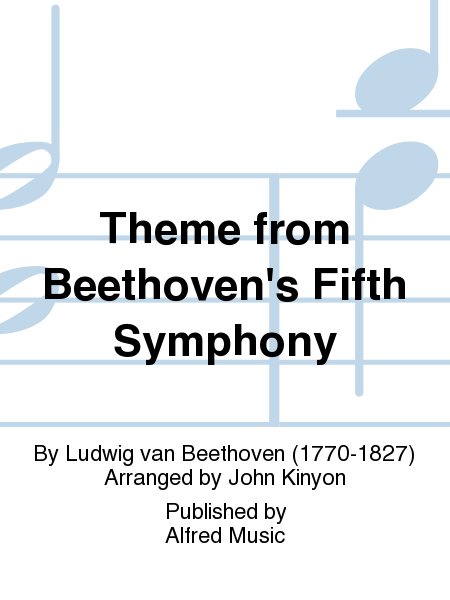 Theme from Beethoven's Fifth Symphony