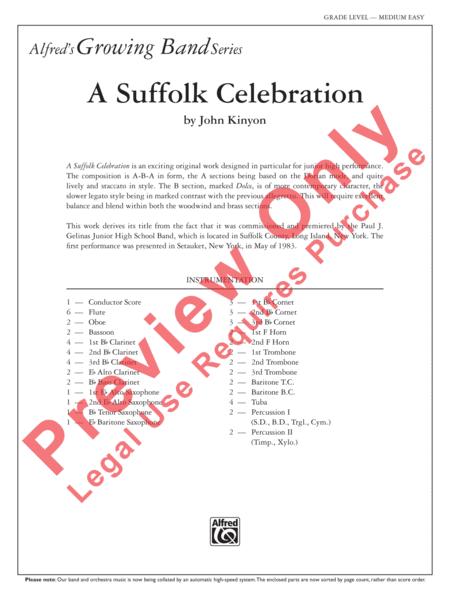 A Suffolk Celebration