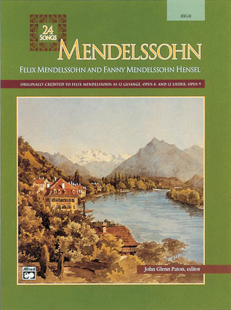 Mendelssohn -- 24 Songs