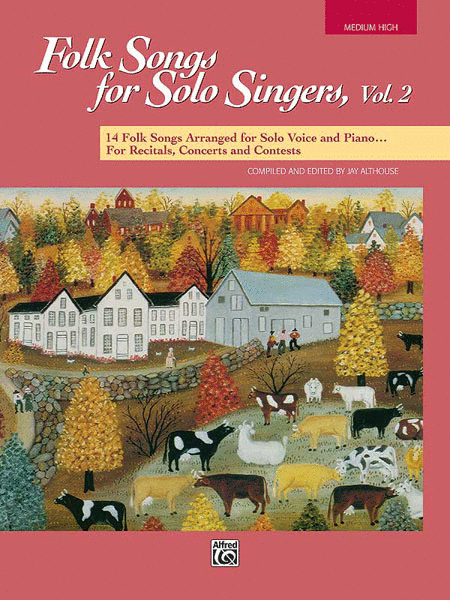 Folk Songs for Solo Singers - Vol. 2, Medium High (Book)