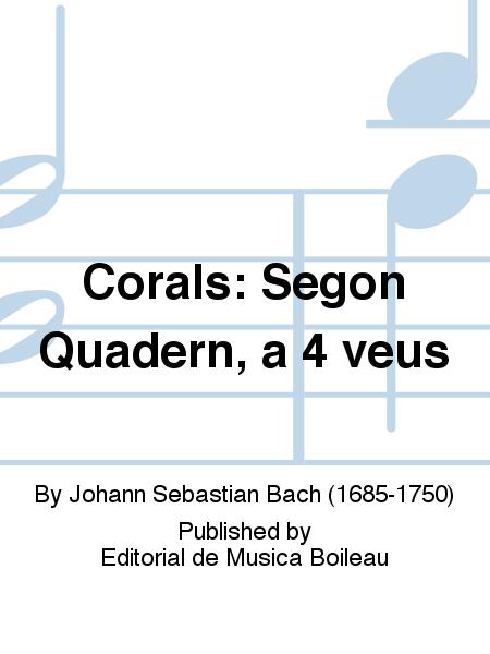 Corals: Segon Quadern, a 4 veus