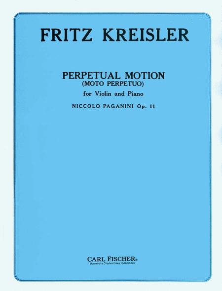 Perpetual Motion (Moto Perpetuo), Op. 11