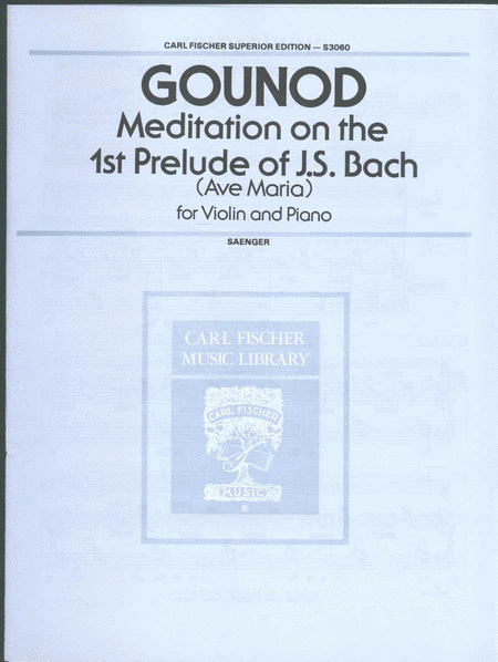 Meditation on the 1st Prelude of J.S. Bach