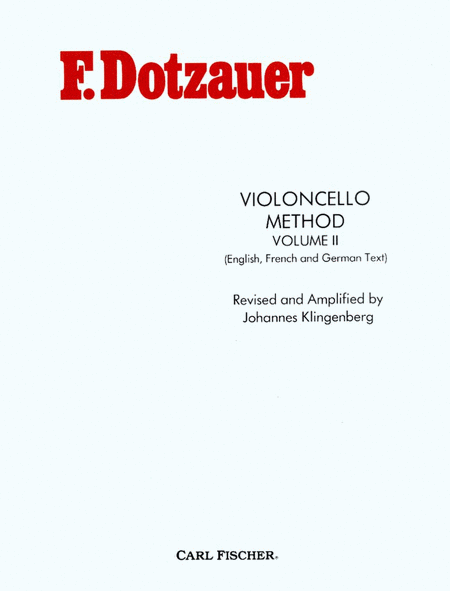 Violoncello Method