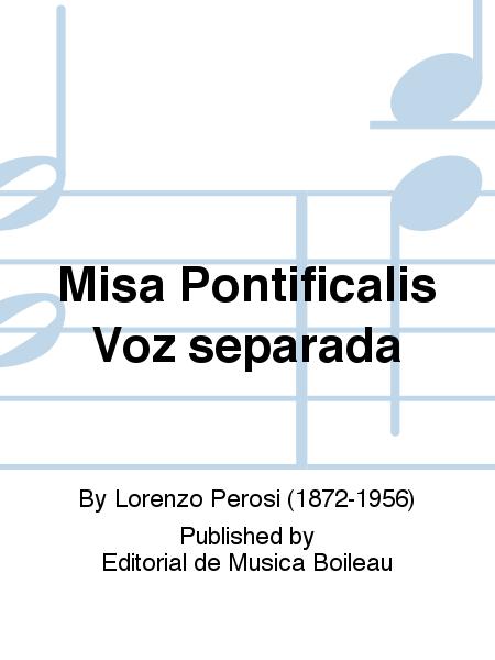 Misa Pontificalis Voz separada