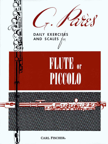 Daily Exercises and Scales for Flute or Piccolo