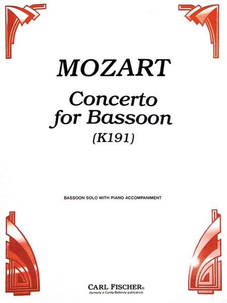 Concerto for Bassoon (K191)
