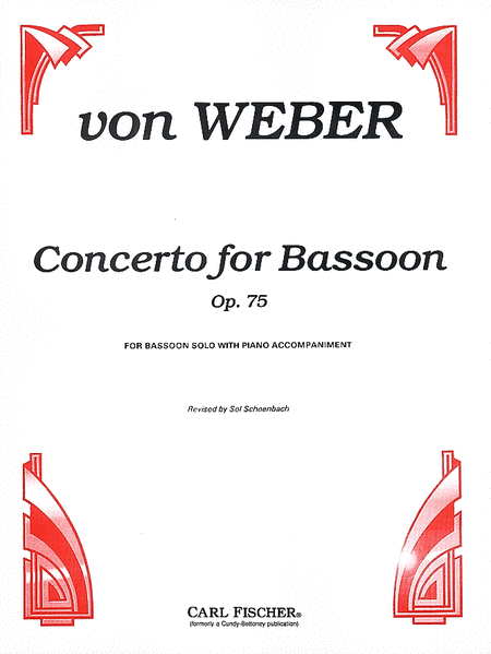 Concerto for Bassoon, Op. 75