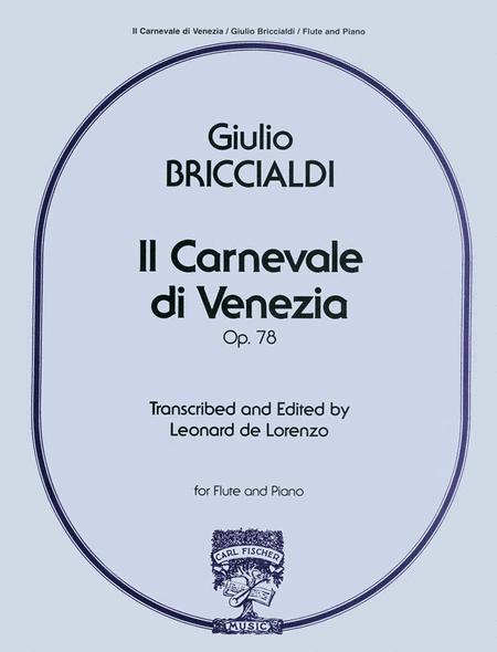 Il Carnevale di Venezia, Op.78