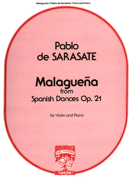 Malageuna From Spanish Dances