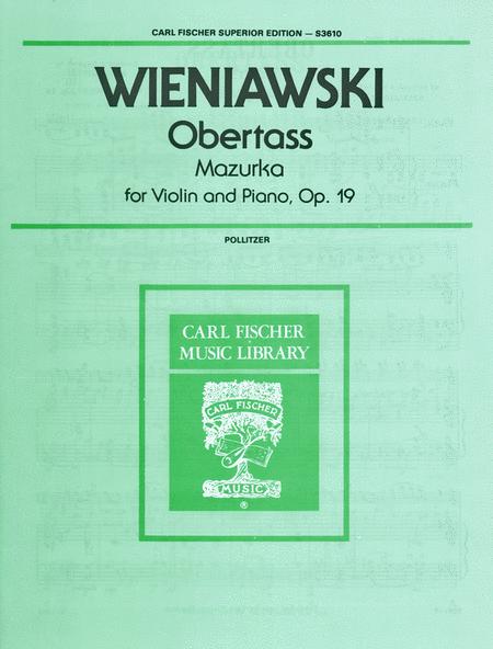 Obertass (Mazurka), Op. 19