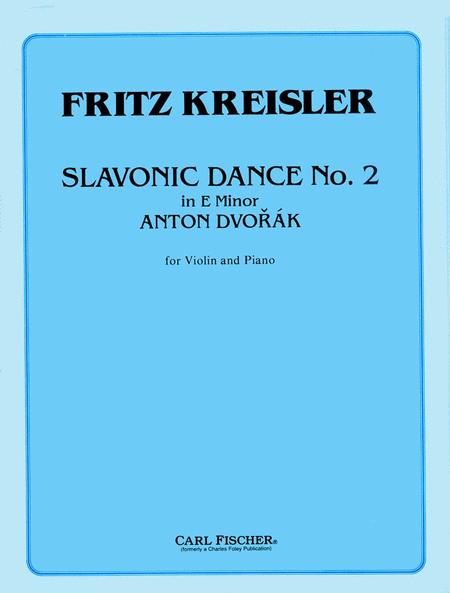 Slavonic Dance No. 2 in E Minor