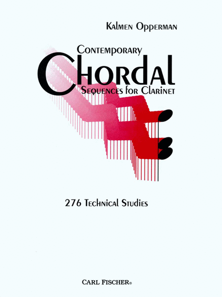 Contemporary Chordal Sequences for Clarinet