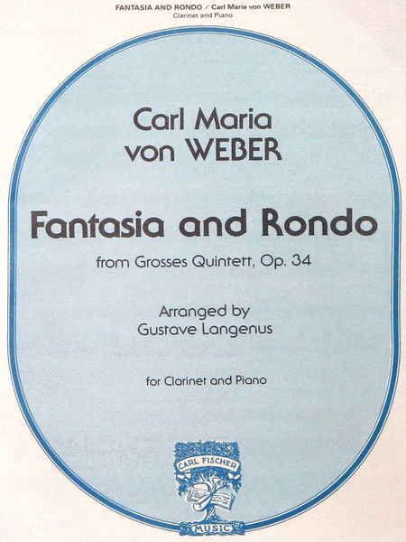 Fanatasia and Rondo from Grosses Quintett, Op. 34