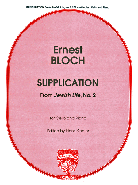 Supplication (From 'Jewish Life', No. 2)