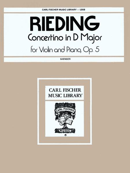 Concertino in D Major, Op. 5