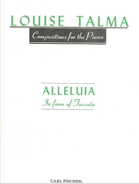 Alleluia in Form of Toccata