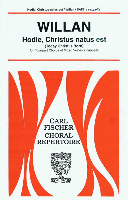 Hodie, Christus natus est (Today Christ is Born)