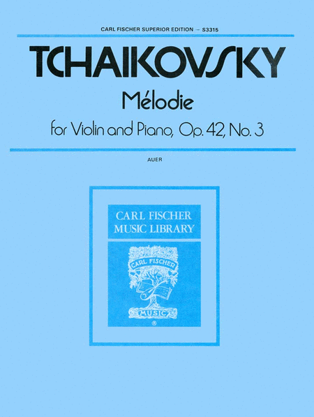 Melodie, Op. 42, No. 3