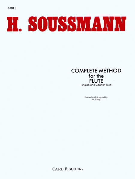 Complete Method for the Flute-Pt. II