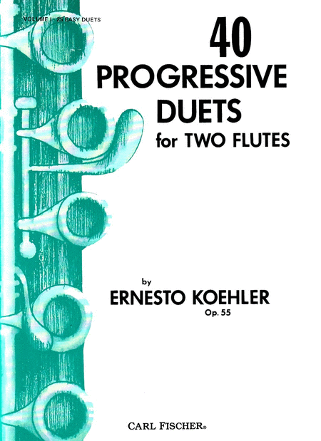 40 Progressive Duets, Op. 55, Vol. 1