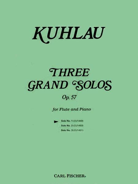 Three Grand Solos, Op. 57