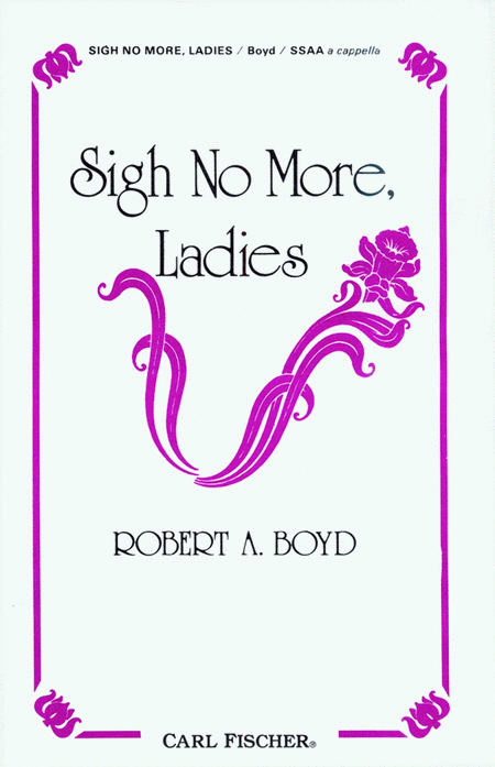 Sigh No More, Ladies