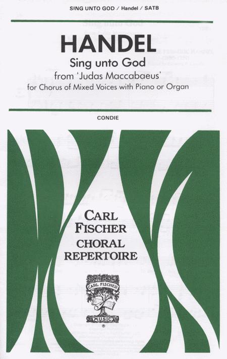 Sing Unto God from 'Judas Maccabaeus'