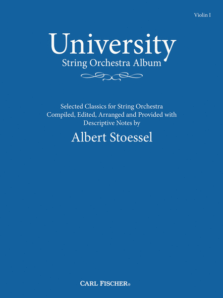 University String Orchestra Album