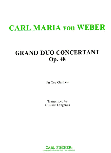 Grand Duo Concertante, Op. 48