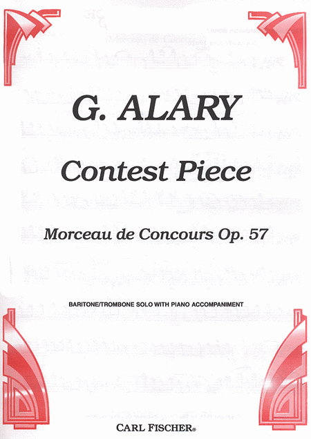 Contest Piece, Op. 57 (Morceau de Concours)